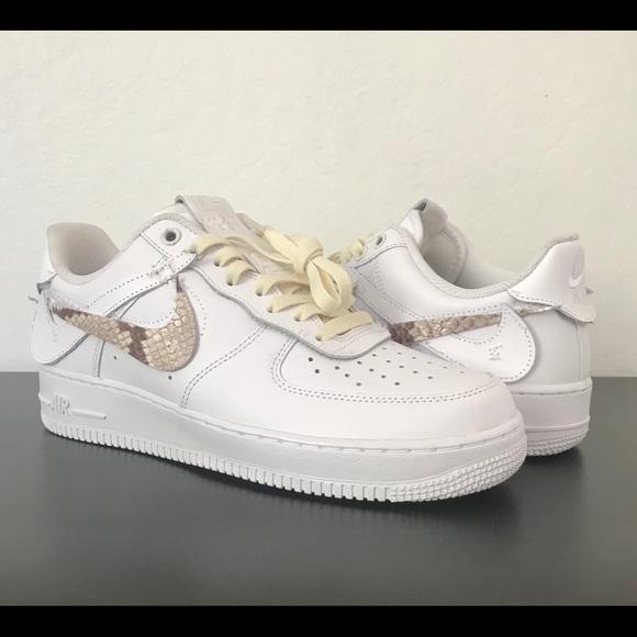 651e6bc7e21341 Nike Air Force 1 Makers Studio Custom Size 8.5. M 5b8b7bc05bbb80457df6840e